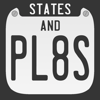 States And Plates, The License Plate Game Icon
