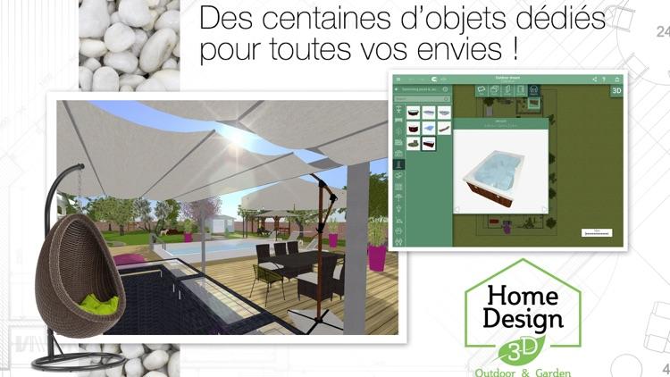 Home Design 3D Outdoor Garden screenshot-3