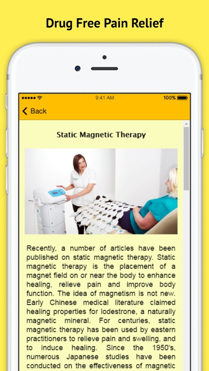 Magnetic Therapy Healing - Drug Free Pain Relief screenshot-3