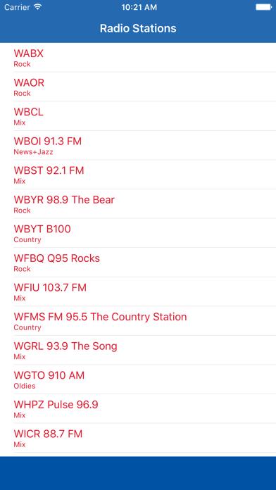 Radio Channel Indiana FM Online Streaming screenshot one