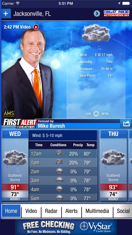 Action News Jax Weather - Online Game Hack and Cheat