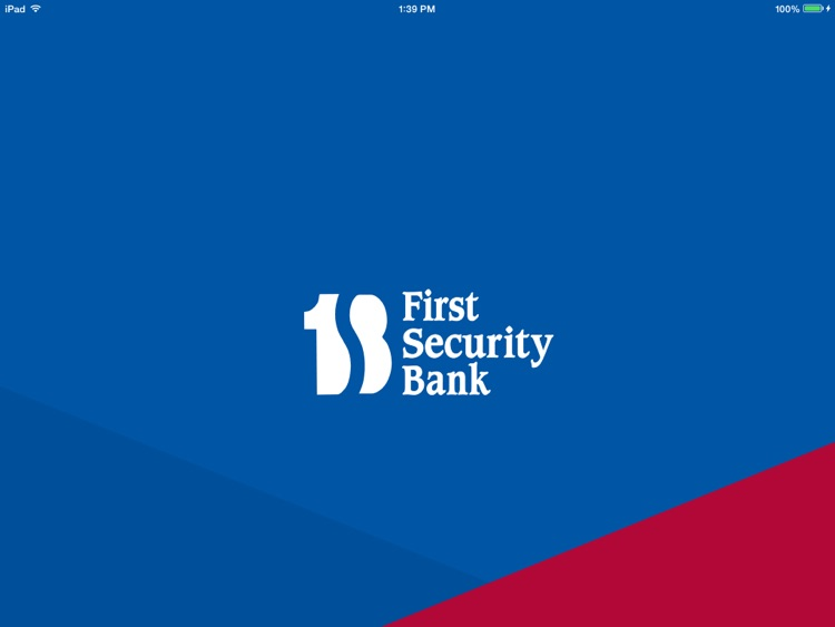First Security Bank of Byron for iPad