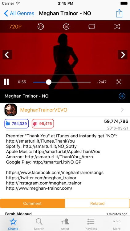 Smart Music Tube Pro for Youtube--Free music video player and account  manager by minhong huang