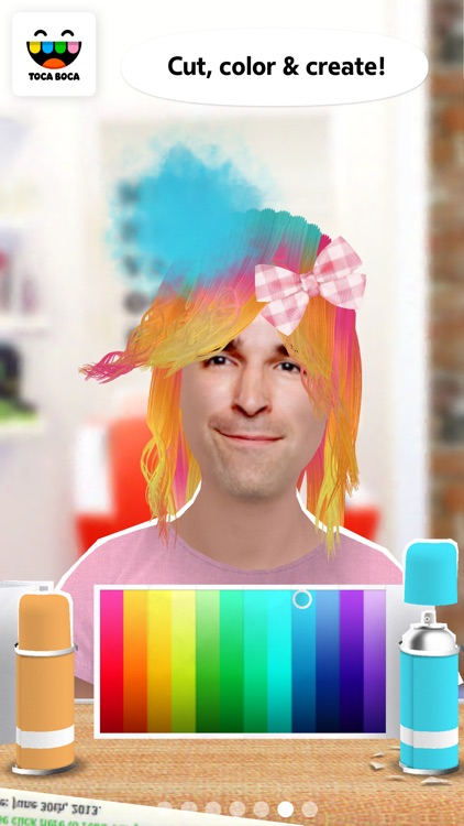 Toca Hair Salon Me screenshot-1