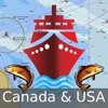 i-Boating: Canada & USA - Marine / Nautical Navigation Charts for fishing & sailing Reviews