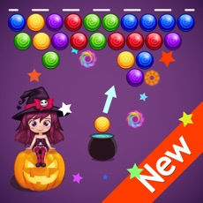 Activities of Bubble Candy Shooter Halloween