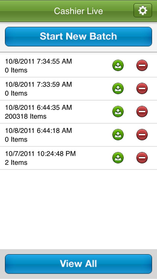 Retail Inventory screenshot