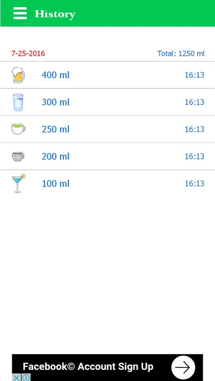 Health Manager: Diet, water, sports screenshot-4