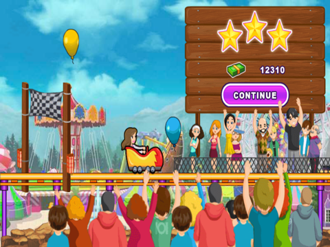 Crazy Roller Coaster Gameのおすすめ画像5