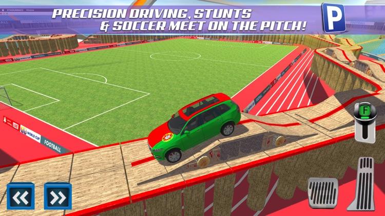 Soccer Stadium Sports Car & Bus Parking Simulator 3D Driving Sim