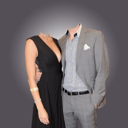 Couple Suit  -Latest and new photo montage with own photo or camera