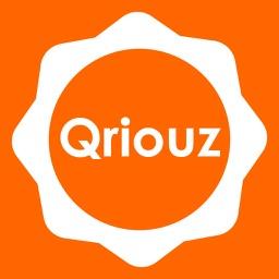 Qriouz - no more business cards