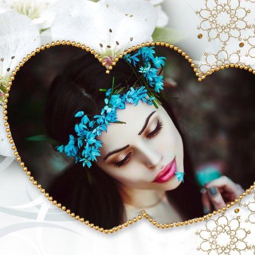 Cute Romance Photo Frames - Instant Frame Maker & Photo Editor iOS App
