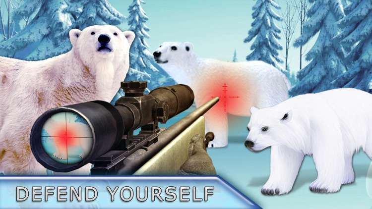 Polar Bear Attack Hunter 2016 - Shoot to Kill Artick Wild Animal - Survival mission