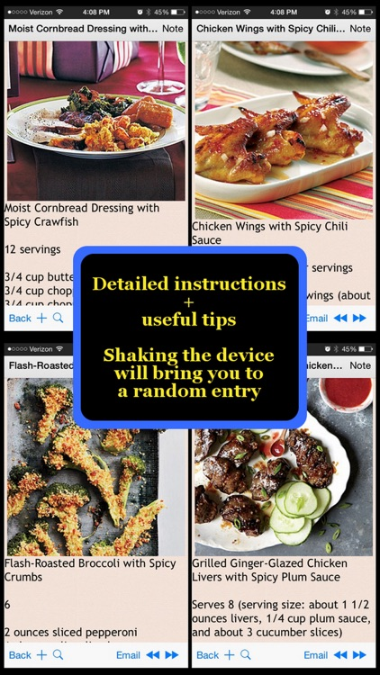 470 Spicy Recipes