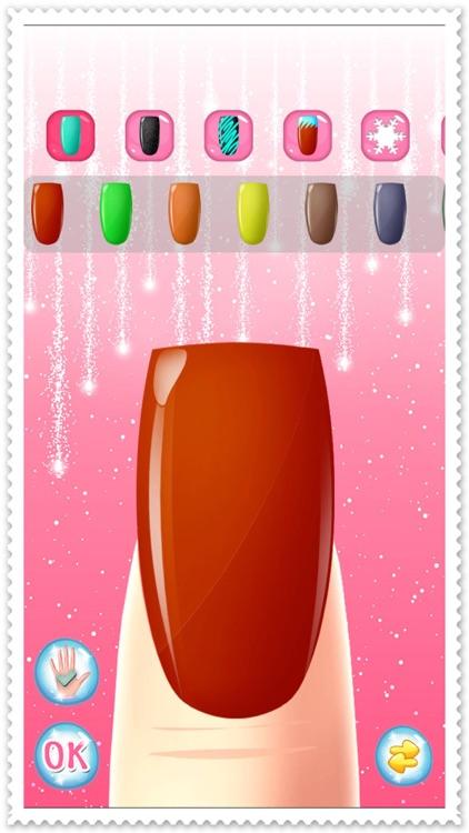 Nail Spa Salon Beautiful girls - makeup makeover and games dressup ...