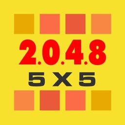 5x5 2048