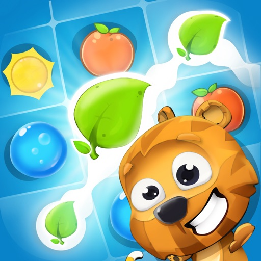 Pet Friends Line Match 3 Game: Cute Animals Adventure and Super Fun Rescue Story