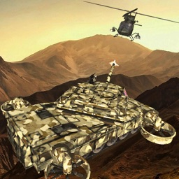 Battle Tank Flying 3D Simulator