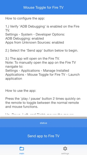 ‎Mouse Toggle for Fire TV