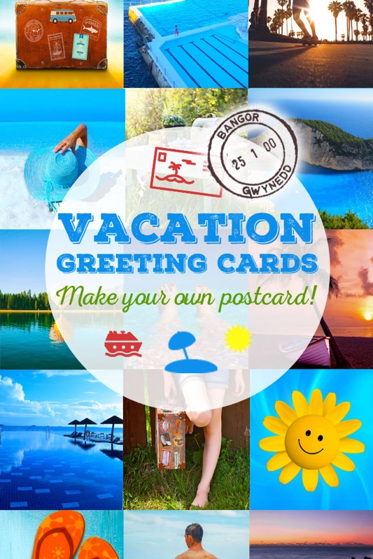 Vacation greeting cards summer holiday greetings wallpapers write a greeting card from your summer holidays or send a travel ecard to wish your friends a good journey and an happy vacation m4hsunfo