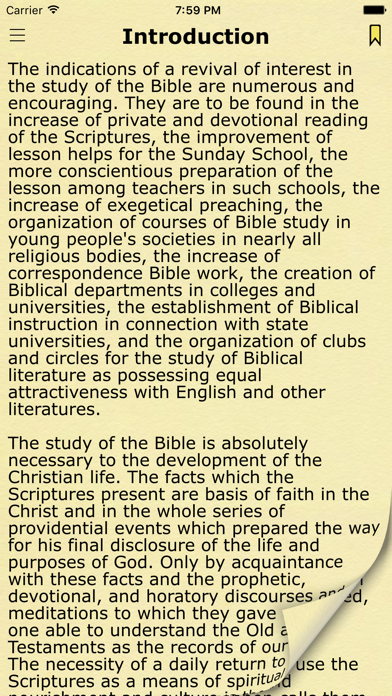 Bible Study Guide with King James Bible Verses screenshot one