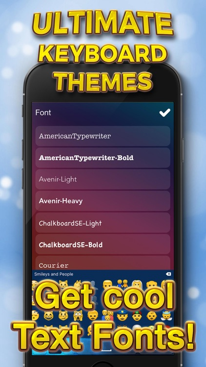 Ultimate Keyboard Themes – Customize Cool Key.boards with Color Text Fonts for iPhone screenshot-3