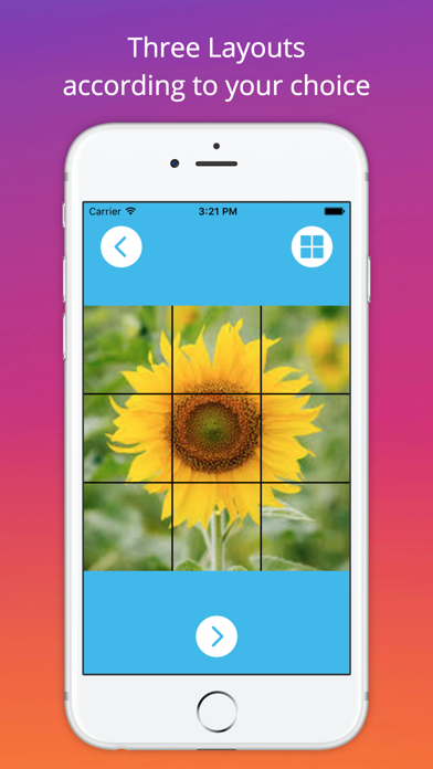 Grid Style for Instagram - Instagrid Post Banner sized full size Big Tiles for IG screenshot two