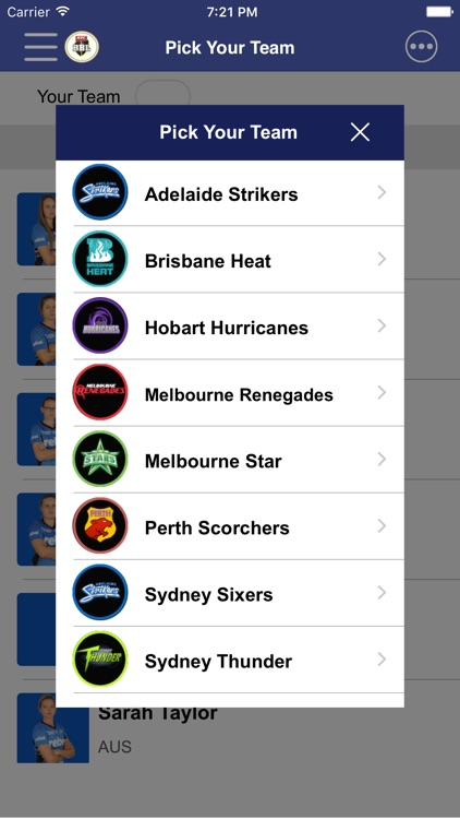BBL Woman 2016 Unofficial  - Schedule,Live Score,Today Matches screenshot-3