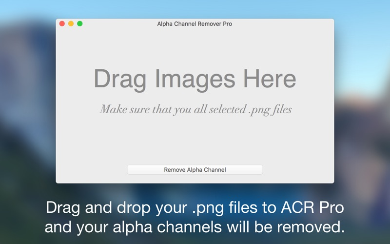 Alpha Channel Remover Pro