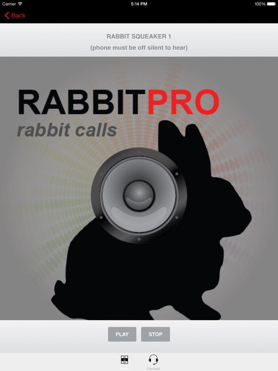 REAL Rabbit Calls & Rabbit Sounds for Hunting Calls ** BLUETOOTH COMPATIBLE screenshot-0