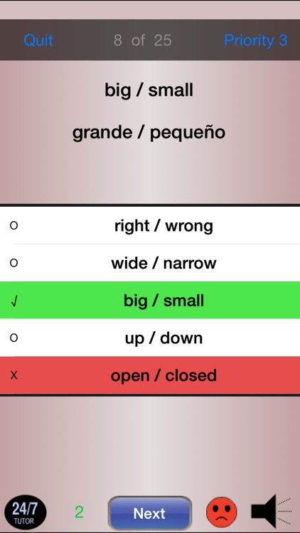 Spanish Vocabulary 24/7 Language Learning screenshot-3