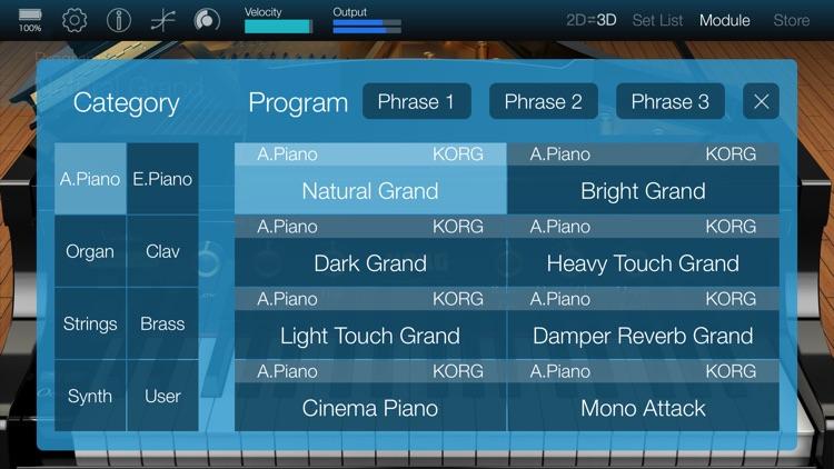 KORG Module screenshot-3
