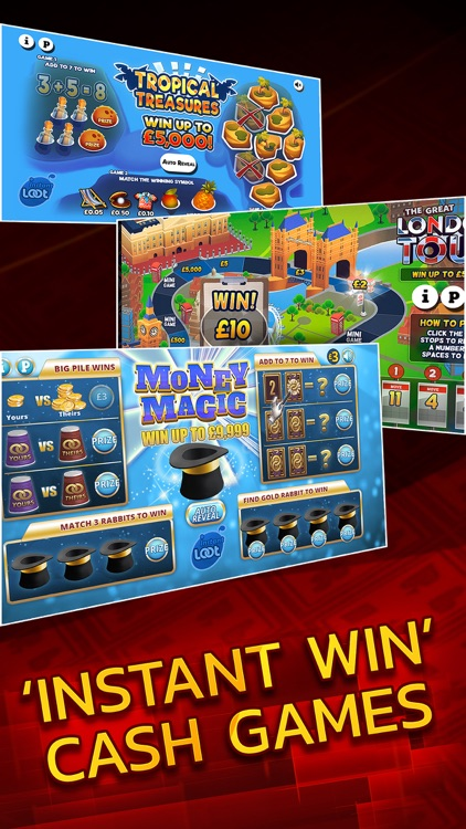 Instant Win Arcade - Real Money Scratch Cards screenshot-3