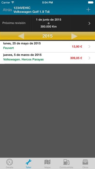 Screenshot for Vehic in Venezuela App Store