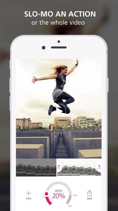 Slo Mo Video - Slow Motion Vid Speed Editor for YouTube and Instagram Screenshot