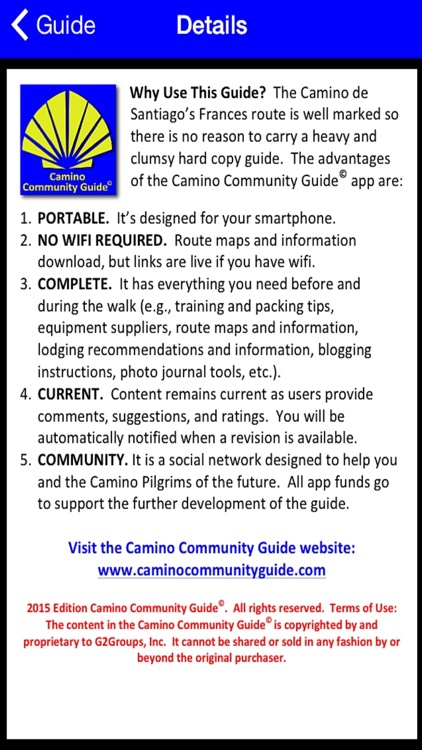 Camino Guide screenshot-0