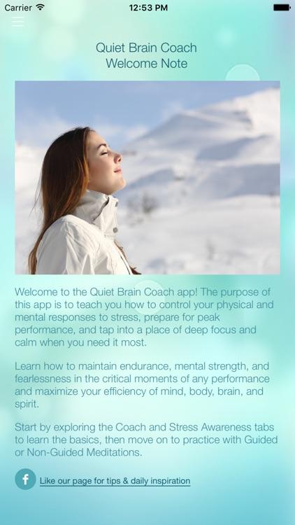 Quiet Brain Coach