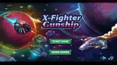 X-Fight Gunship - Galaxy Battle Shooting Simulation