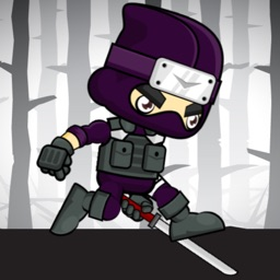 Running Ninja Scary Forest