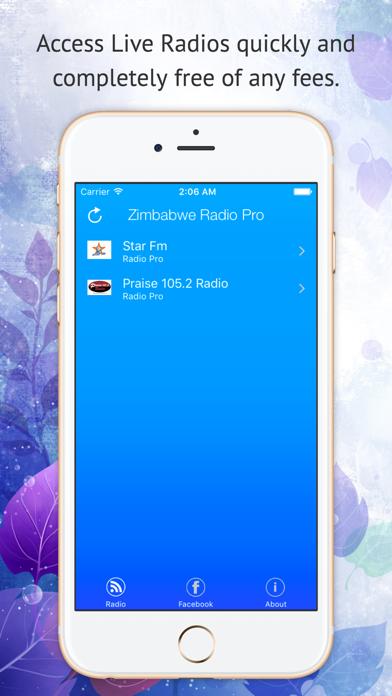Zimbabwe Radio Pro screenshot one