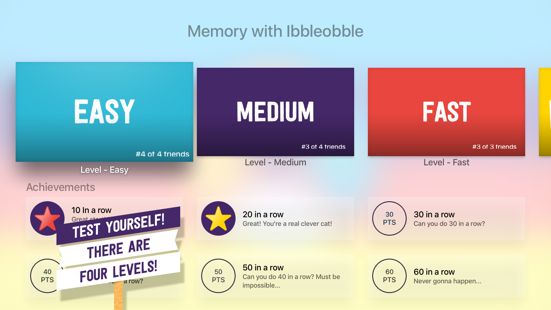 Memory with Ibbleobble - The ultimate brain training game for kids and adults screenshot 15