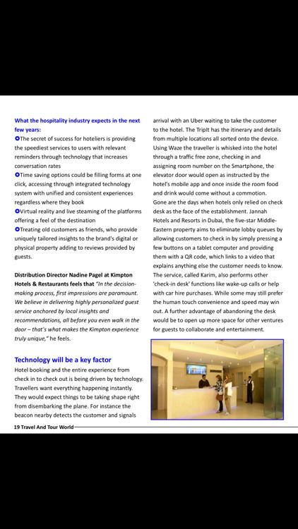 Travel And Tour World Magazine screenshot-4