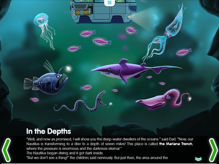 Water Planet. Interactive story for kids. Ocean and its inhabitants. screenshot-4