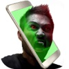 吸血鬼 写真 編集者 - 怖い 顔 チェンジャー 画像 モンタージュ とともに ホラー ステッカーアイコン