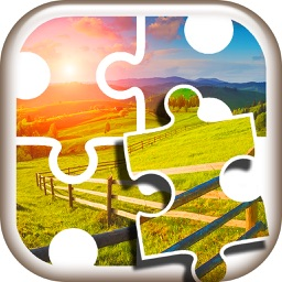 Nature Jigsaw Puzzles – Beautiful Landscape Picture Puzzle Games for Brain