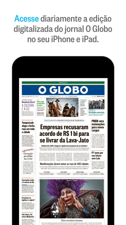 O Globo screenshot-0