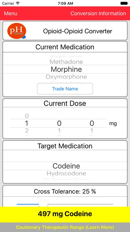 pH-Medical Opioid Converter screenshot-3