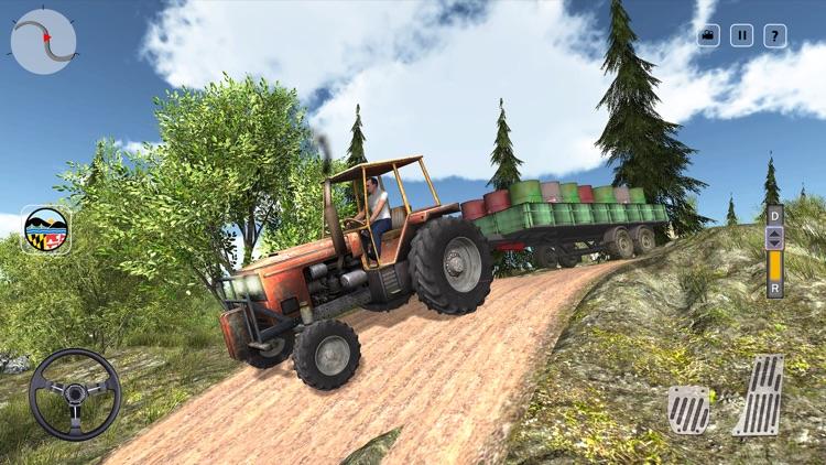 Offroad Farming Tractor Cargo screenshot-4