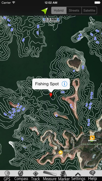 Lake Sidney Lanier GPS Nautical charts screenshot-3